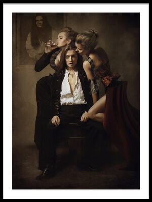 Art print titled Dorian by the artist igor_voloshin