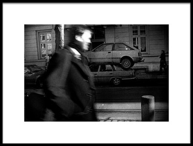 Art print titled Double Parking 2 by the artist renato bartolomei