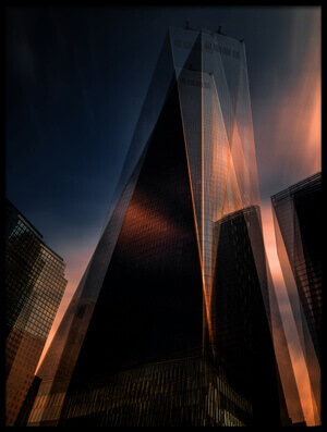 Buy this art print titled Double Tower by the artist Massimo Della Latta