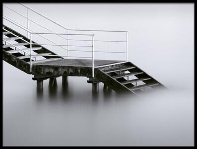 Art print titled Downstairs by the artist Iñigo Barandiaran