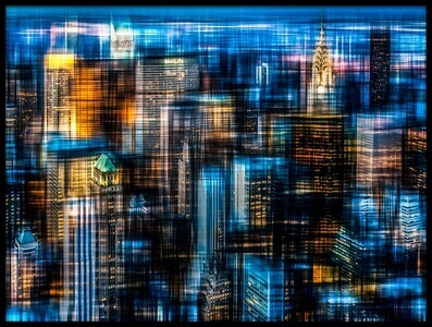 Buy this art print titled Downtown II B by the artist Hannes Cmarits