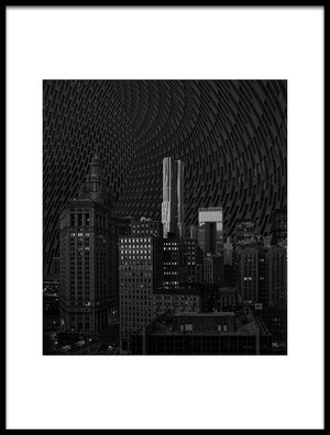 Buy this art print titled Downtown Montage by the artist Liyun Yu