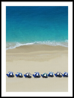 Buy this art print titled Dream Beach by the artist Ina Dabi
