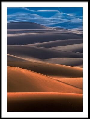 Buy this art print titled Dream Desert II by the artist Mohammad Shefaa