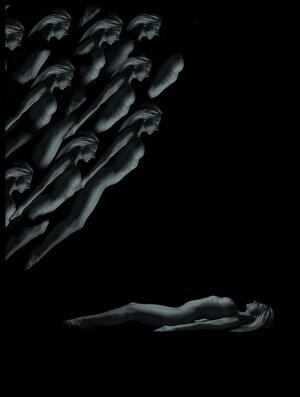 Art print titled Dreaming by the artist Dieter Plogmann
