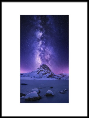 Art print titled Dreaming Light by the artist Carlos F. Turienzo