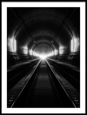 Art print titled DreamsGate-Spider Tunnel by the artist AdemHabibe