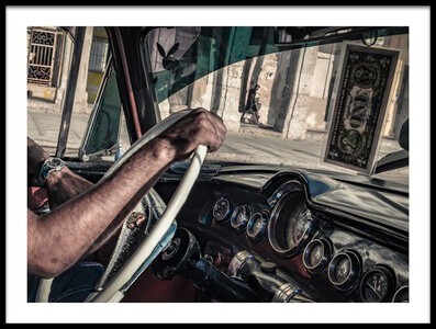Buy this art print titled Driver by the artist Andreas Bauer
