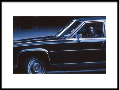 Art print titled Driver (from the Series New York Blues) by the artist Dieter Matthes