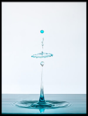 Buy this art print titled Drop by the artist Adamo Prieto