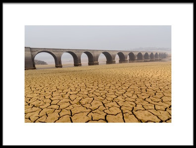 Art print titled Drought Landscapes by the artist Marcos Marcos Adanez