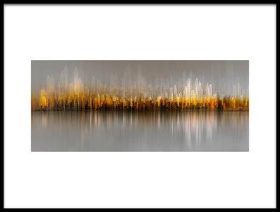 Art print titled Dubai Skyline by the artist Carmine Chiriacò