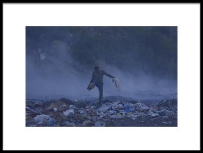 Art print titled Dump and Play by the artist Fatma Demir