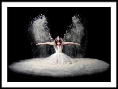 Buy this art print titled Dust Wings by the artist Pauline Pentony MA ARPS DPAGB