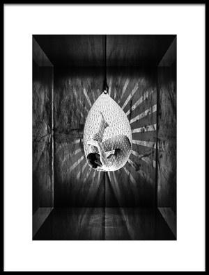 Art print titled Egg by the artist Raziye Koksal Kartal