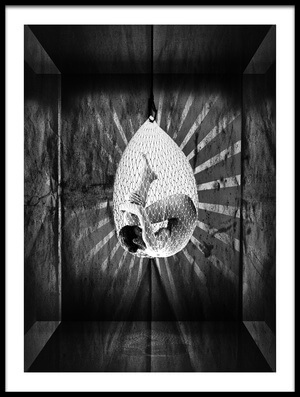 Buy this art print titled Egg by the artist Raziye Koksal Kartal