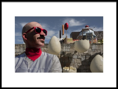Art print titled Eggman by the artist Vasco Trancoso