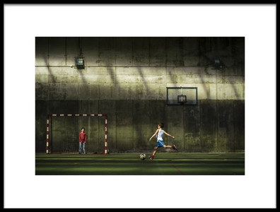 Art print titled El Momento by the artist Pedro Bada
