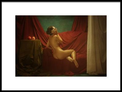 Art print titled Elena by the artist Evgeny Loza