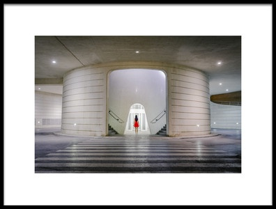 Art print titled Elevator by the artist Paco Herrero