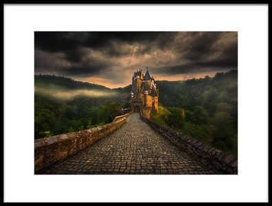 Buy this art print titled Eltz by the artist Krzysztof Browko