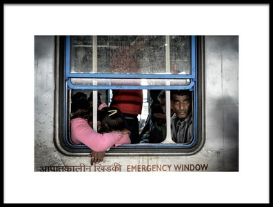 Buy this art print titled Emergency Window by the artist Mohammed Al Sulaili