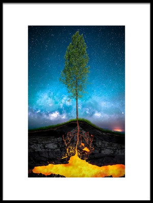 Buy this art print titled Emerging Spring by the artist António Bernardino Coelho
