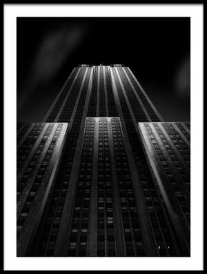 Art print titled Empire State Building by the artist Matthias Hefner