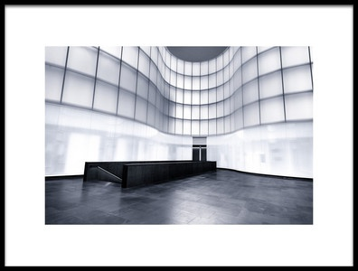 Art print titled Empty Hall by the artist Luca