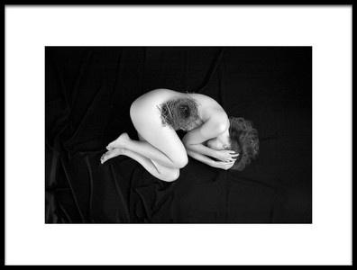Art print titled Empty Nest by the artist Peter Zegveld
