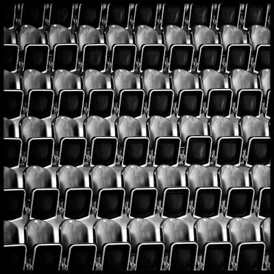 Buy this art print titled Empty Seats by the artist Bastian Kienitz