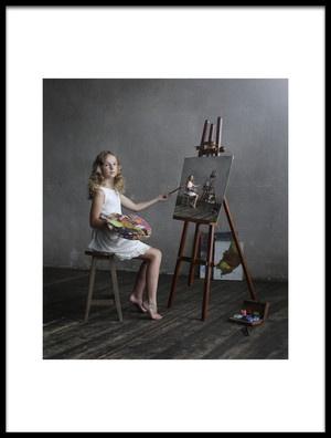 Art print titled Endless Art by the artist Victoria Ivanova