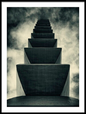 Art print titled Endless Column by the artist  Mugurel Motea