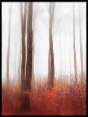 Buy this art print titled Endless Woods by the artist Gustav Davidsson
