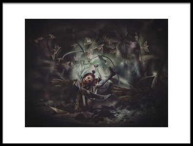 Art print titled Enigma the Promised Land by the artist Ekaterina Zagustina