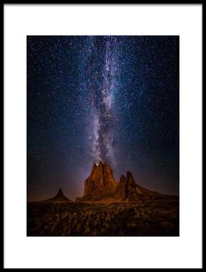 Art print titled Eruption by the artist Michael Zheng