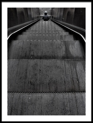 Buy this art print titled Escalator by the artist Ali Ayer