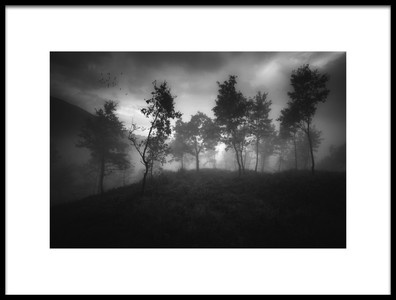 Art print titled Ethereal Moody Moments by the artist Luca Rebustini