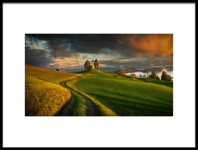 Buy this art print titled Evening Light by the artist Krzysztof Browko
