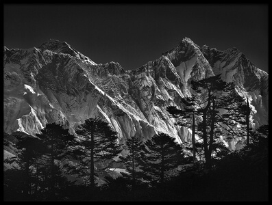 Buy this art print titled Everest View by the artist sorin tanase