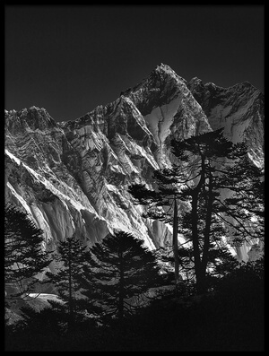 Art print titled Everest View II by the artist sorin tanase