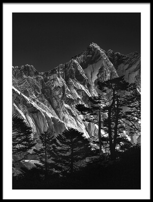 Art print titled Everest View III by the artist sorin tanase