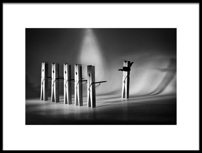 Art print titled Execution by the artist Nermin Smajić