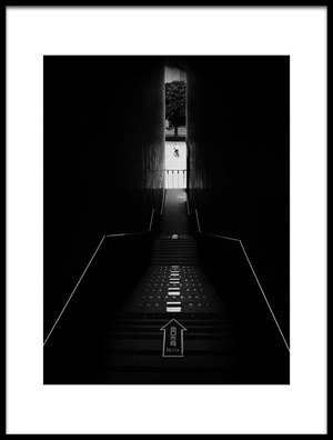 Art print titled Exit by the artist saint024