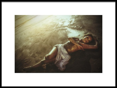 Buy this art print titled Exotica Beach by the artist Taman Tan