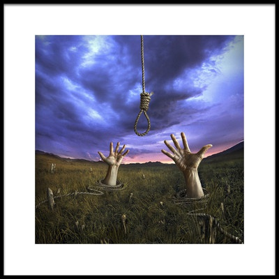 Art print titled Expectance by the artist ivan valentino