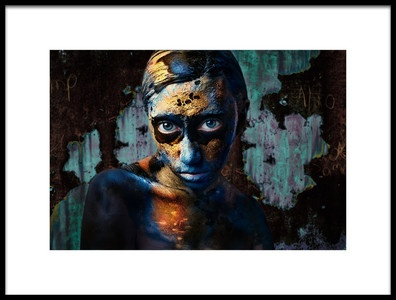 Art print titled Extraterrestrial by the artist Golubeva Nataly