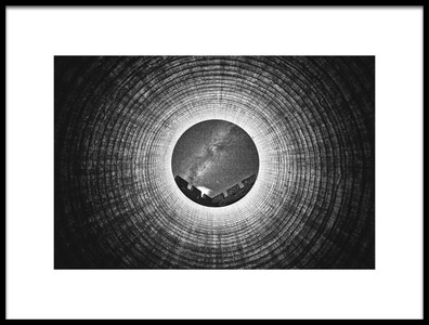 Art print titled Eye of Samsara by the artist Zhou Chengzhou