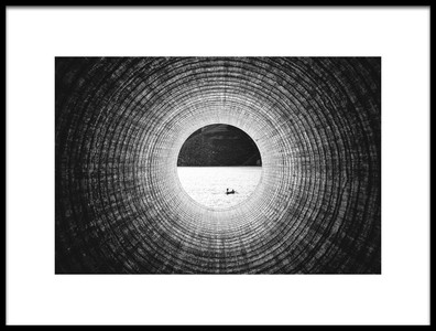 Art print titled Eye of Samsara by the artist Zhou Chengzhou