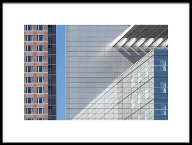 Art print titled Facades by the artist Andreas Bauer